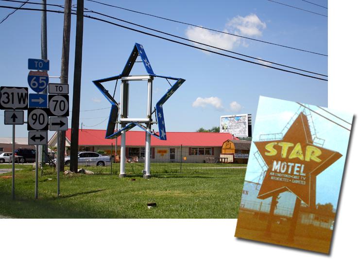 Star Motel sign Cave City KY