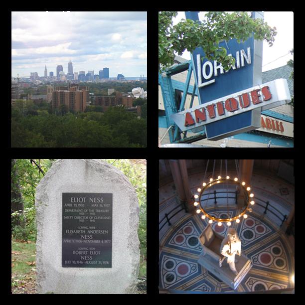 Cleveland skyline Sweet Lorain Eliot Ness President Garfield