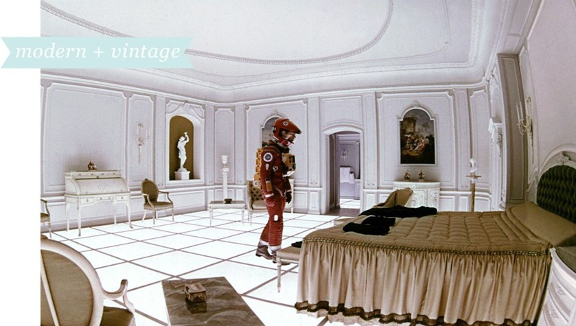 Just like in the movies decor inspiration from film for Bedroom 2001 space odyssey