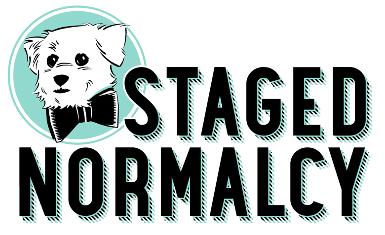 Staged Normalcy logo