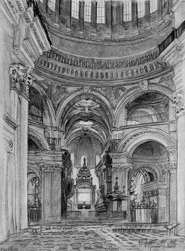 Inside St. Paul's, London