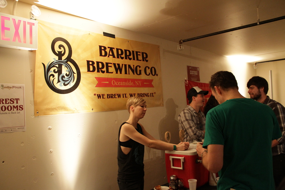 One of my favorite NY breweries,  Barrier Brewing  holds it down in the vault.