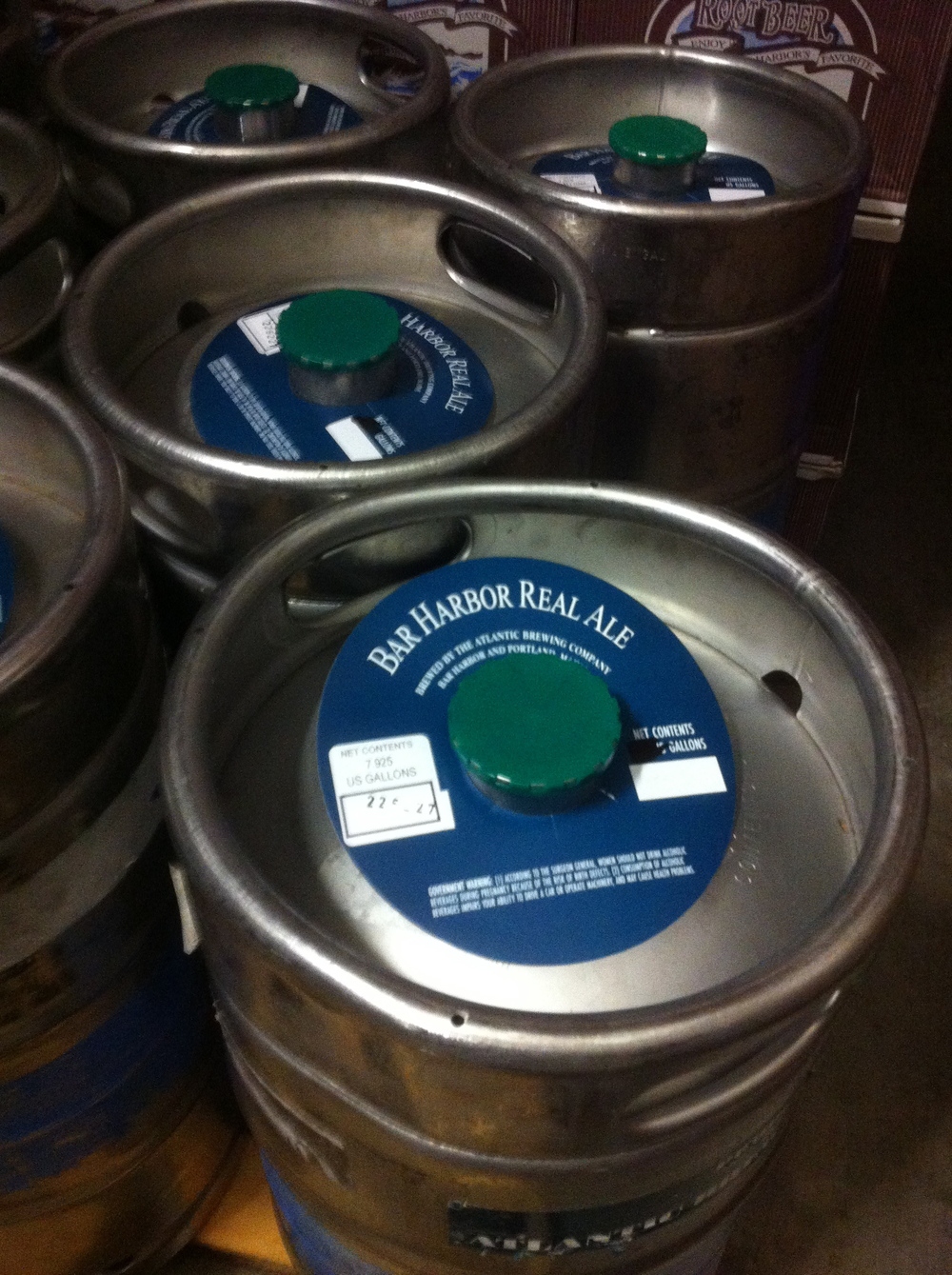 More Atlantic kegs, Bar Harbor