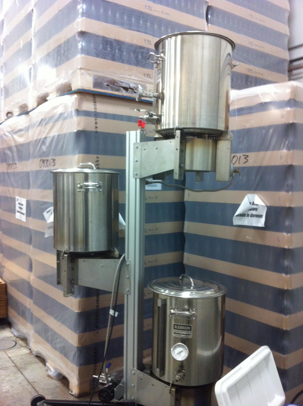 Pilot system, Maine Beer Company, Freeport