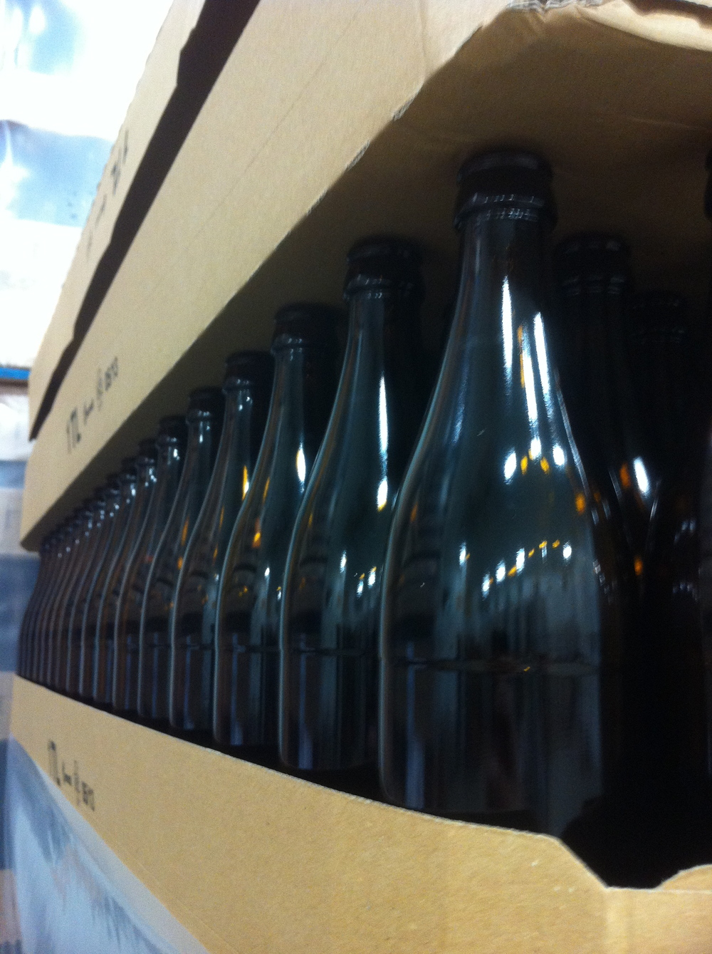 Special bottles imported from Germany, Maine Beer Company, Freeport