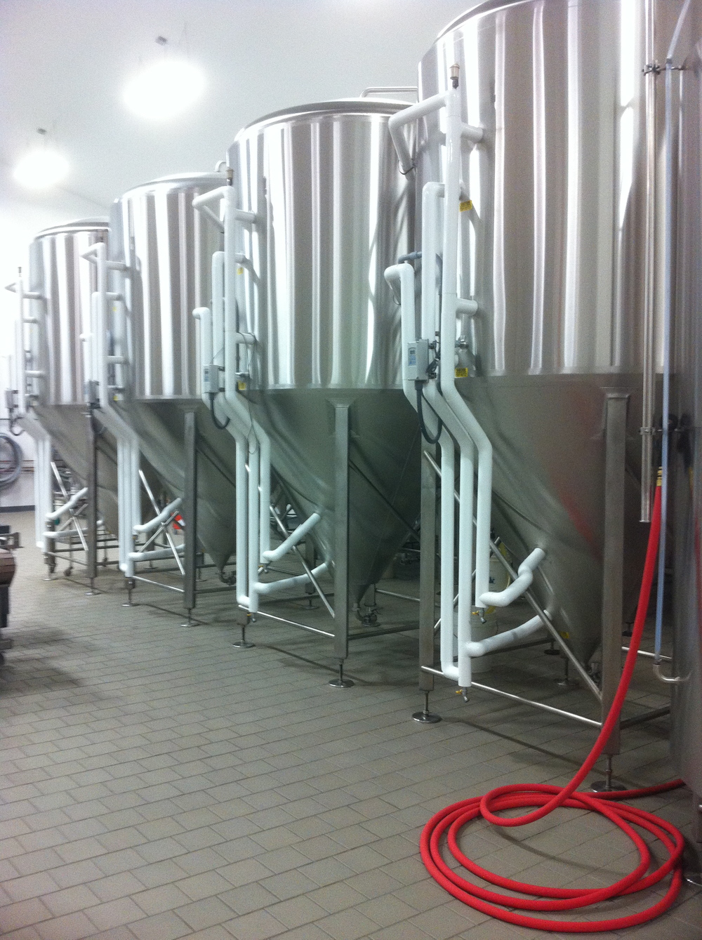 Fermenters, Maine Beer Company, Freeport