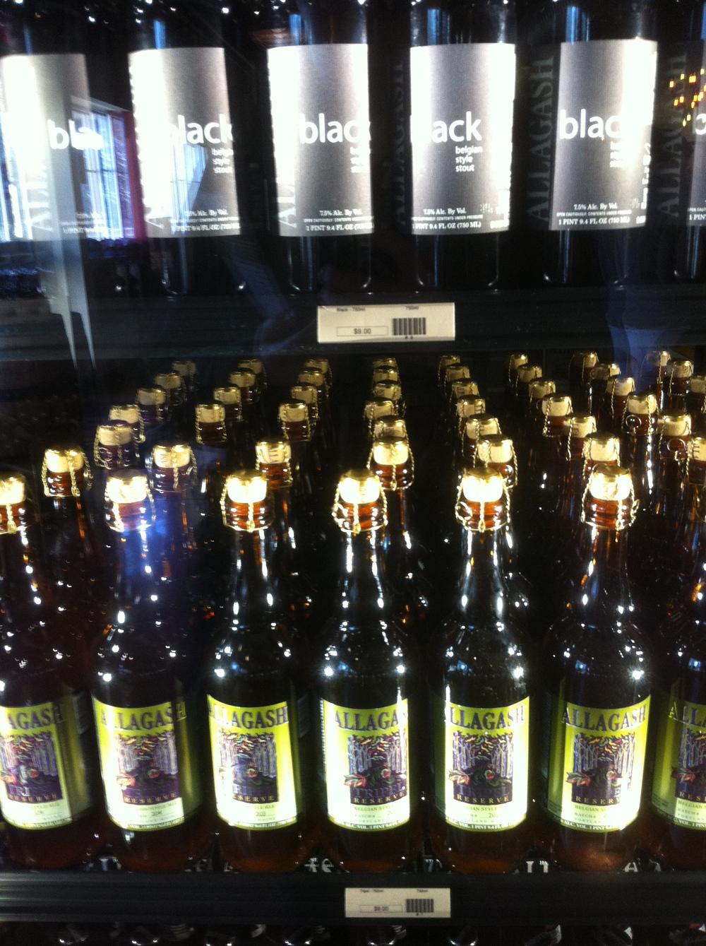 The goods, Allagash Brewing Company, Portland
