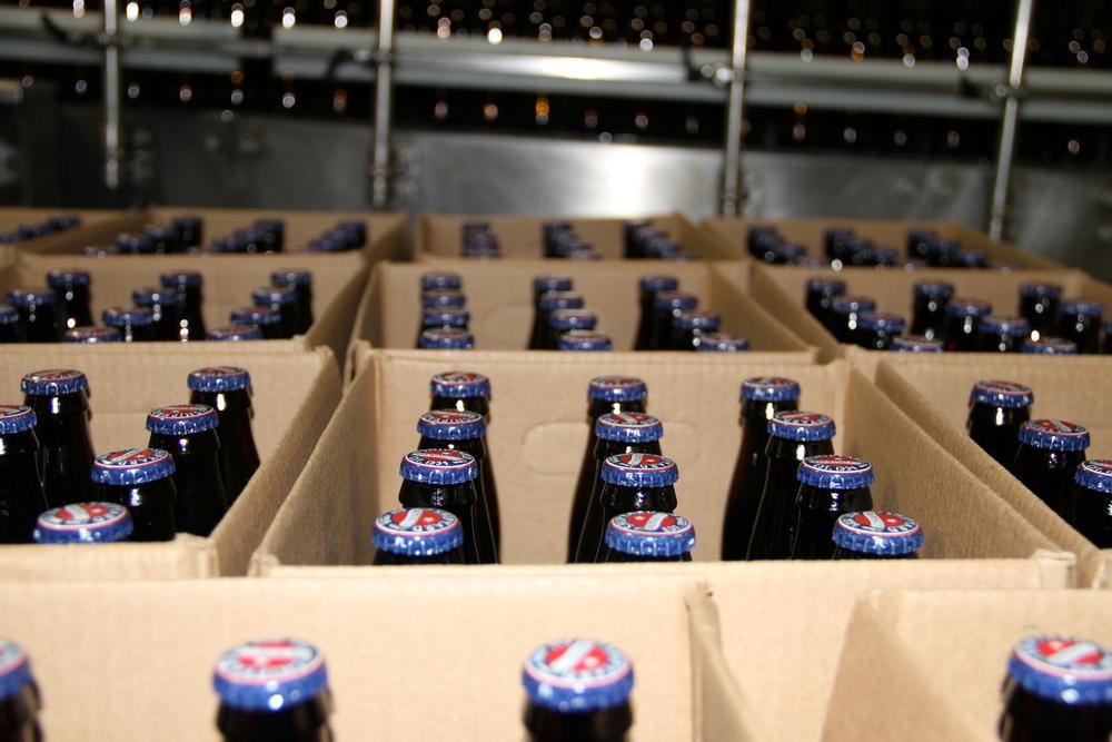 Lotsa bottles, Shipyard, Portland