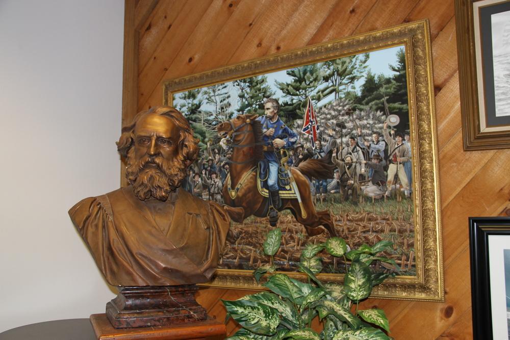 Famous Mainers: Wadsworth Longfellow & Joshua Lawrence Chamberlain, Shipyard, Portland