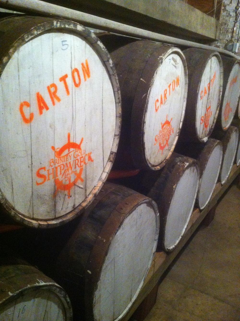 The barrels!