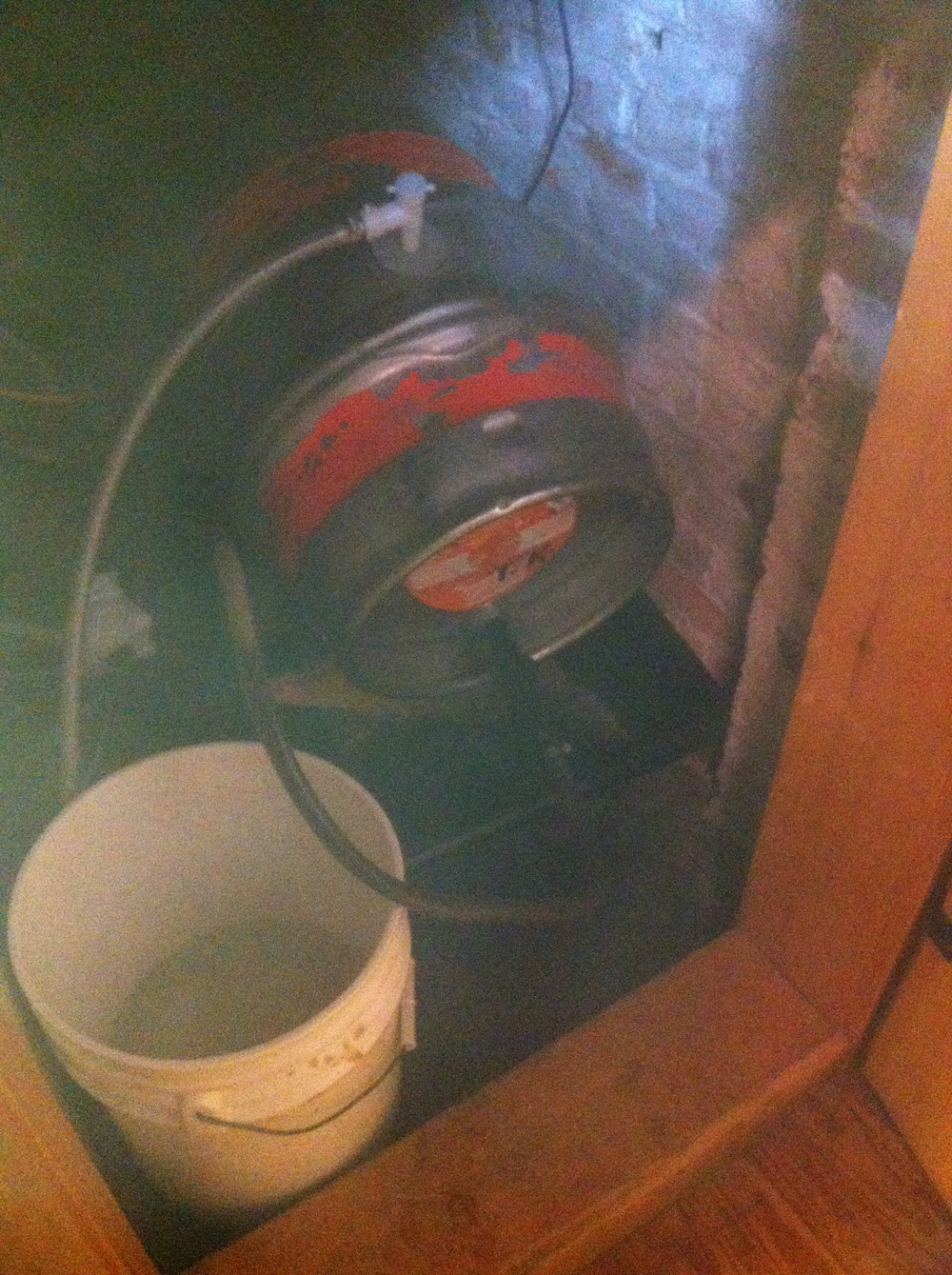 Find a little closet? Put a cask in it!