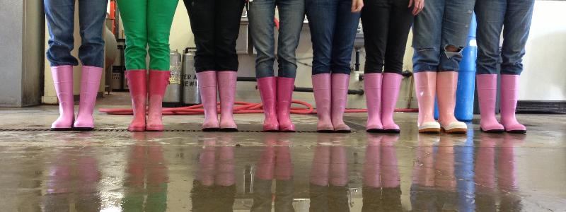 Image via Pink Boots Society, a super rad trade org aimed at supporting women in the craft beer industry.