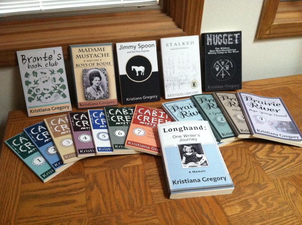 My Books Kristiana Gregory