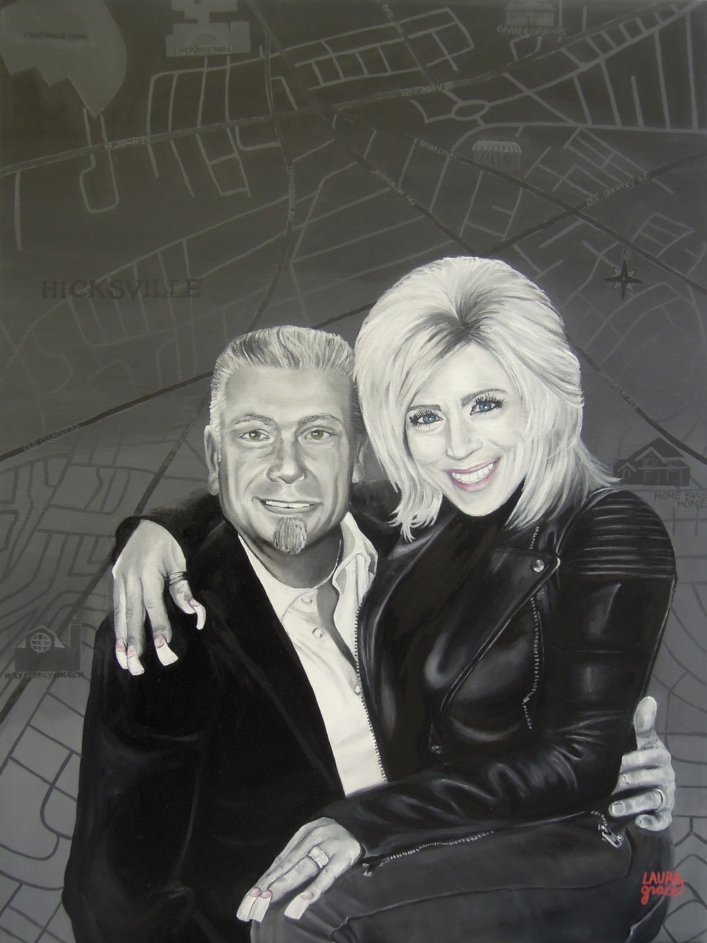 Portrait of Larry and Theresa Caputo