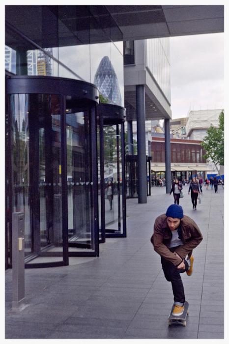 Outside Old Spitalfields Market