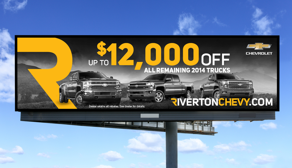 Riverton Chevy Billboard
