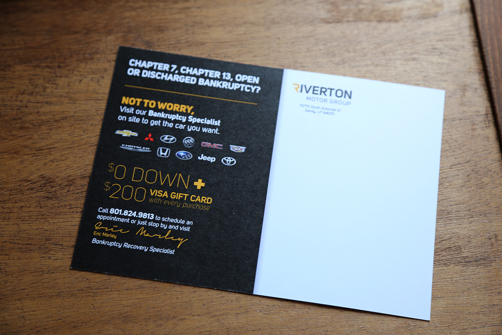 Riverton Chevrolet Mailer