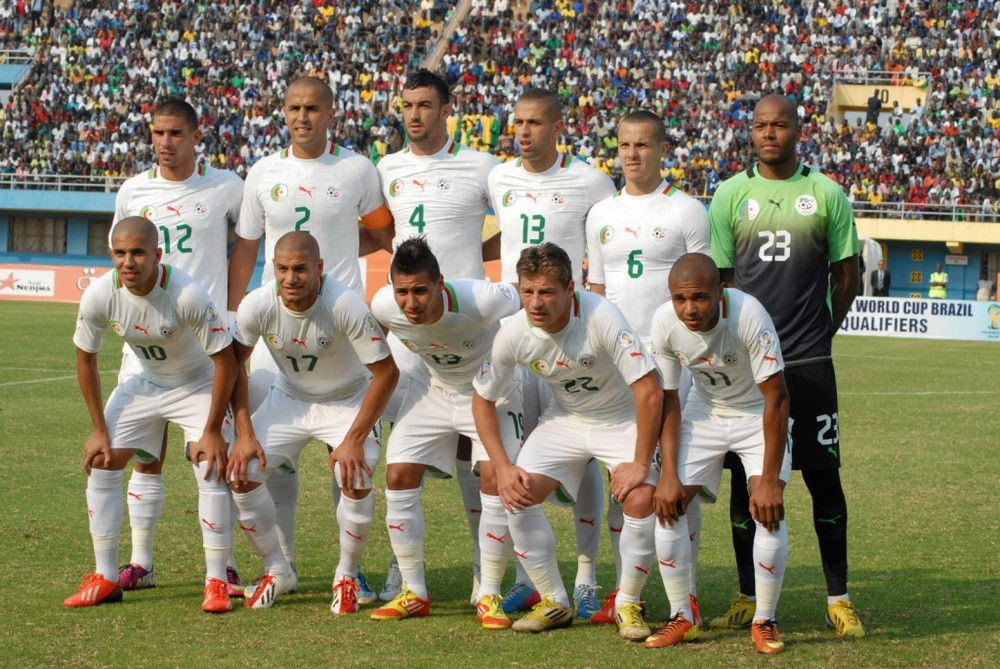 Part of the world cup this year was during Ramadan, which meant muslim countries like Algeria were fasting while playing!