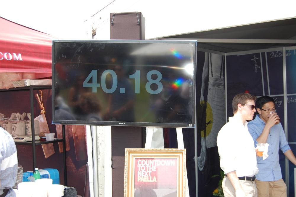 I - Patria Paella Countdown Clock  - .JPG
