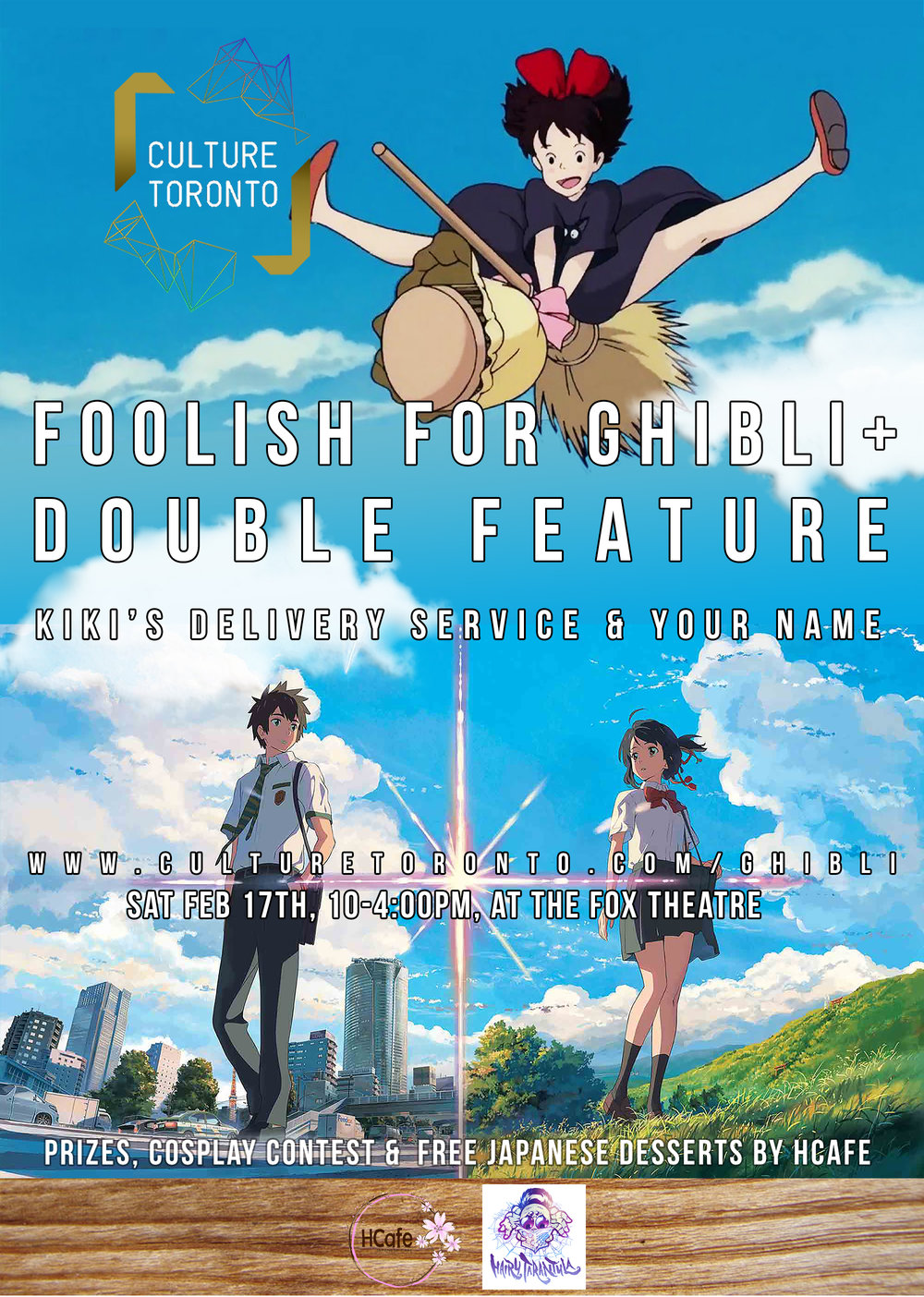 Kikis Delivery Service And Your Name Anime Music Video Foolish For Ghibli Plus Double Feature
