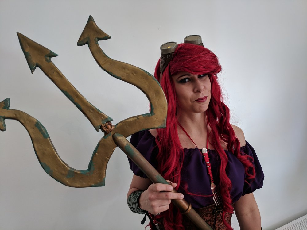 Steam punk ariel cosplay anime toronto