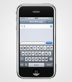 Iphone-text