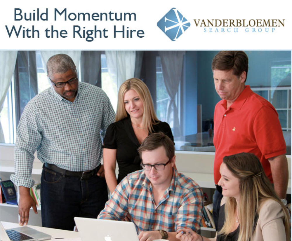 In September 2014, I began my new role as the Executive Search Consultant Team Leader at Vanderbloemen Search Group. That's a lot of words—but it just means I have the opportunity to pour into a gifted team of men and women who walk with Jesus and are giving their lives to help staff the church.There is so much that attracted me to this team. This is a young company with a strong track record and solid foundation. I've known William Vanderbloemenfor several years, and actually hired his team a few years ago at Granger when we were looking to fill a key position. The Vanderbloemen Search Group is unmatched in its' process and results in helping churches find great leaders, and I'm so jazzed to be on the team helping to build the kingdom. -