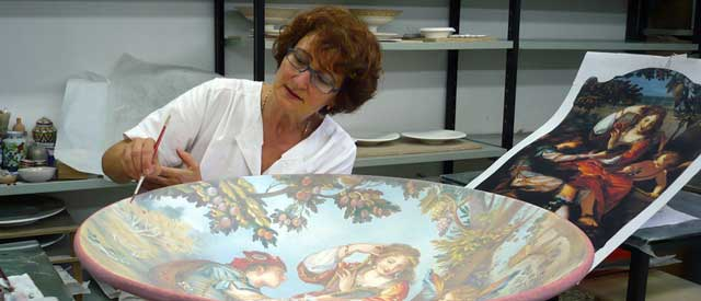 Artisan ceramics workshop, Faenza