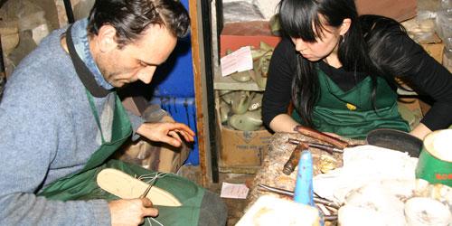 Shoe artisan