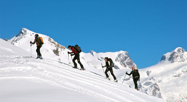 Nordic skiing in Val d'Aosta - image from scinordicovalledaosta.it