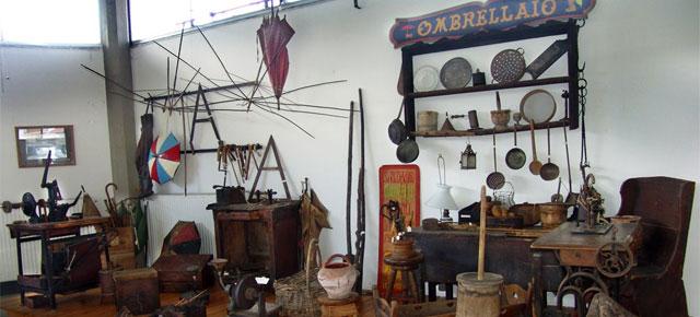 Umbrella Museum since 1939 in Gignese, photo by Marco Ferrari.