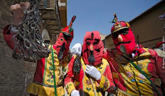The colorful and mischevious devils of San Fratello - image by Pino Grasso