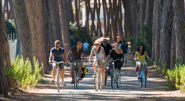 Cycling in the Maremma woods with Bicievento