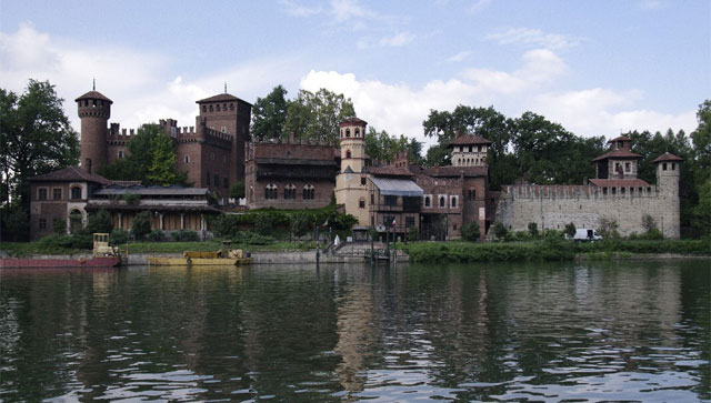 A medieval village in Turin?! Image from museotorino.it