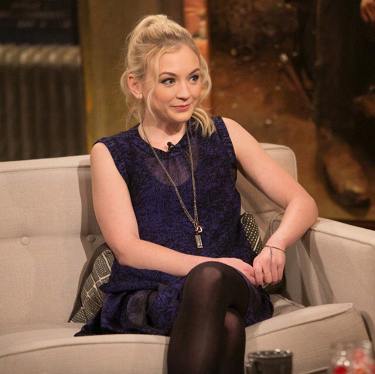 Emily Kinney on Talking Dead- while wearing Bou Cou!