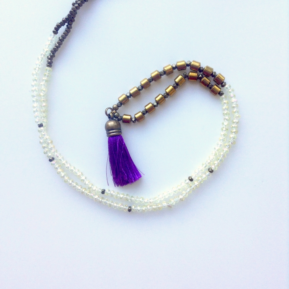 Available in Purple, Peach, Green, and White