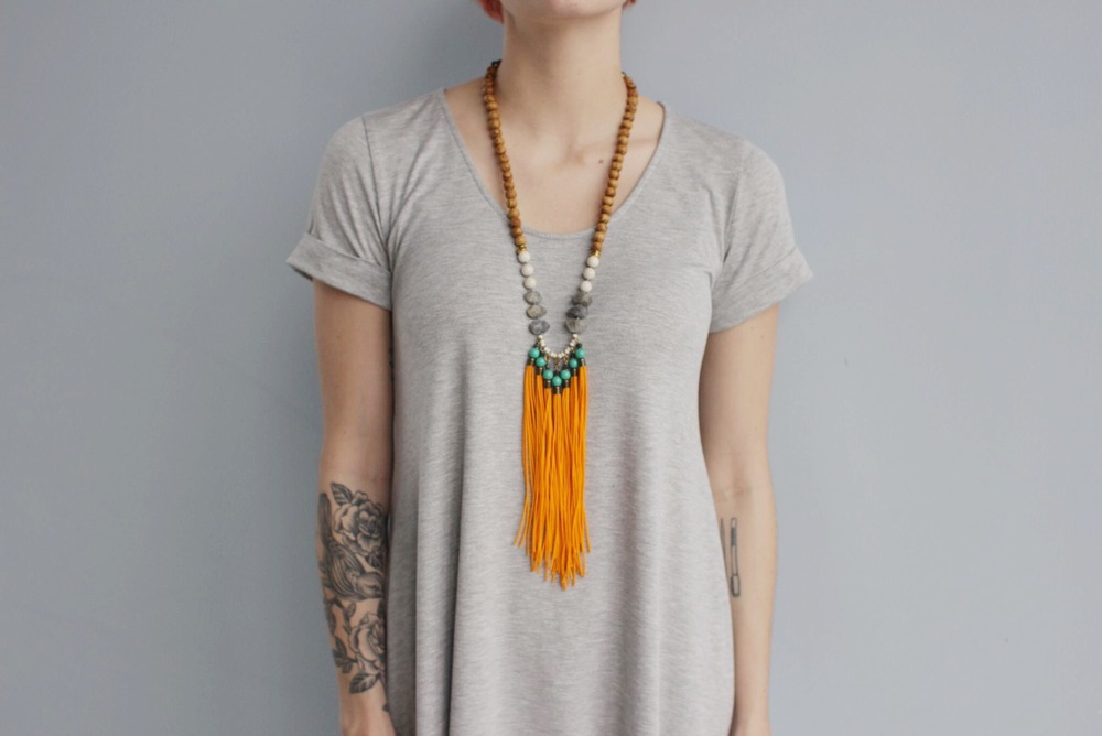 Check out this necklace for yourself on our shop! Retailer? email: info@bou-cou.com