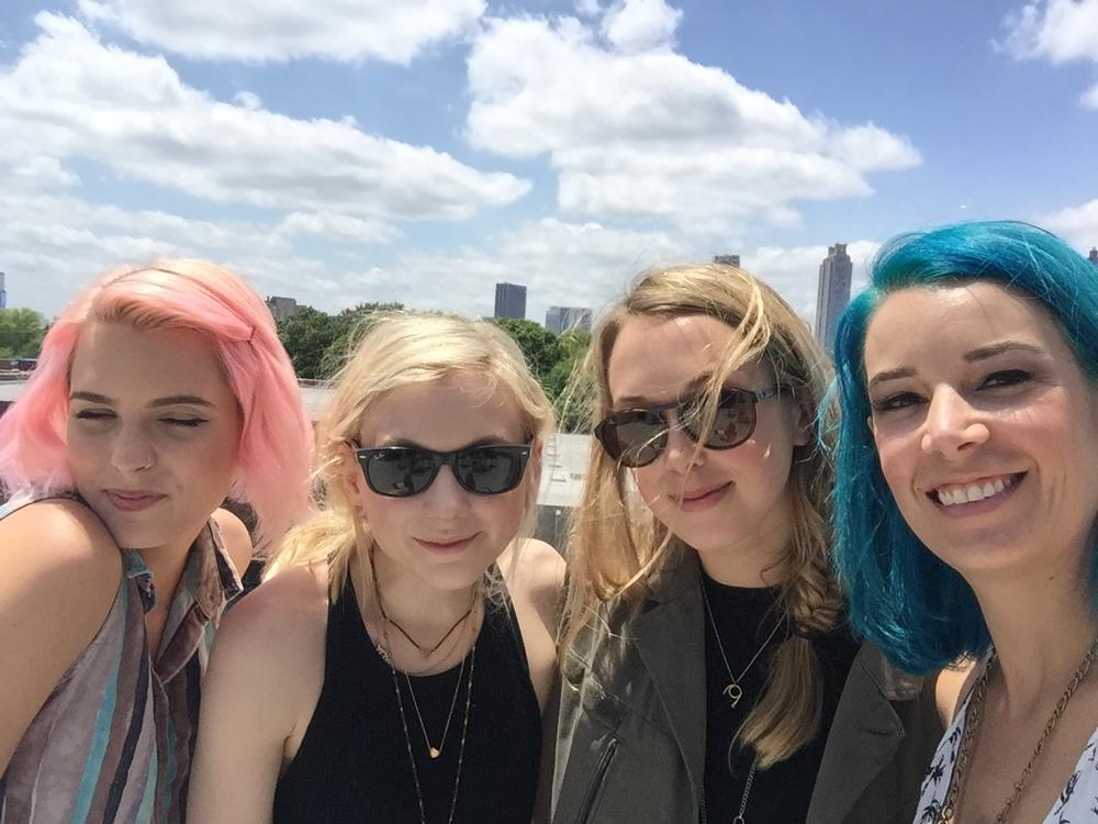 Kayleen, Emily, Hayley, Becka