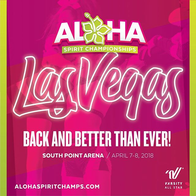 ALOHA Vegas! We're back and better than ever! Register now for the this seasons event on April 7th and 8th.