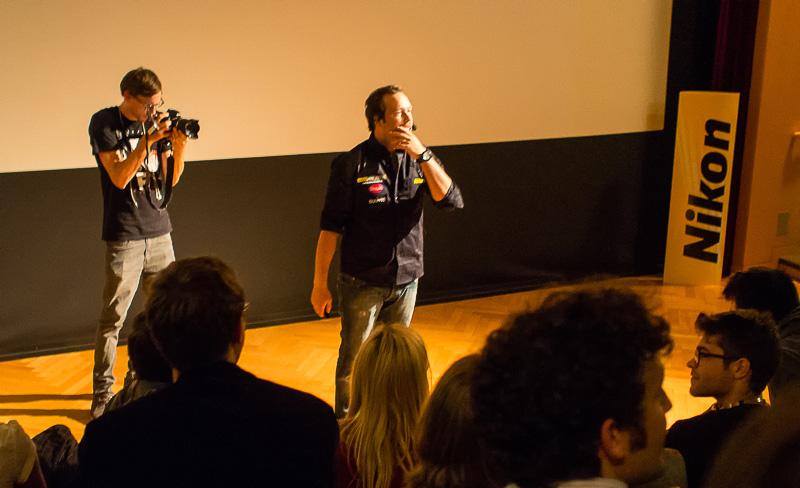 Marc und der Kamerasponsor ;)