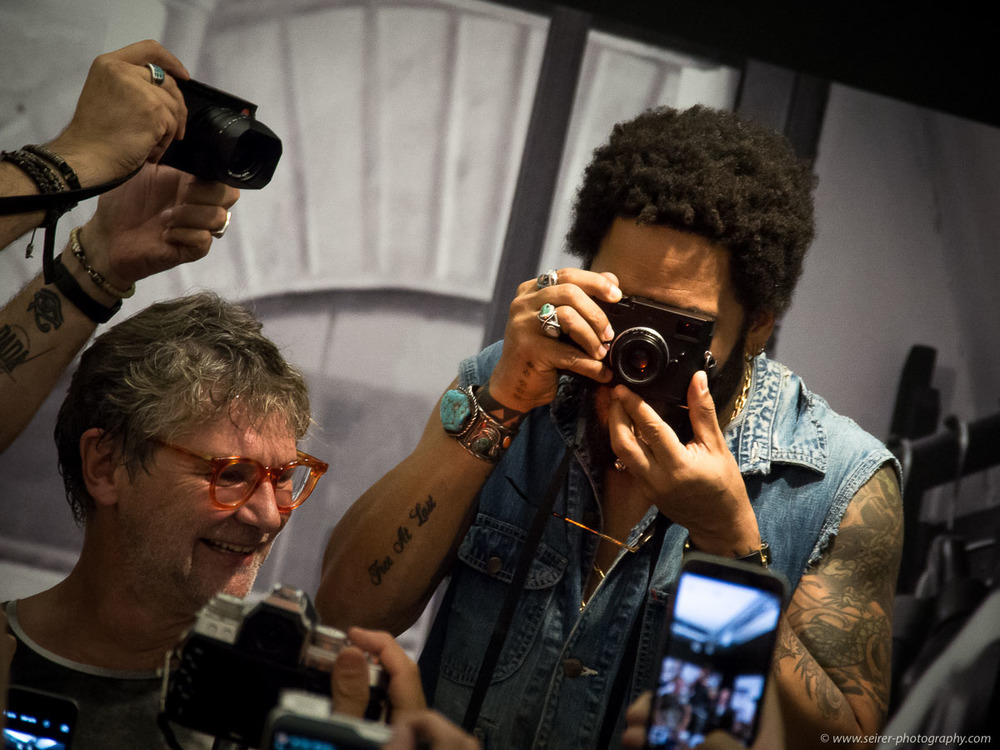 Vernissage Lenny Kravitz - Ascension im Ostlicht
