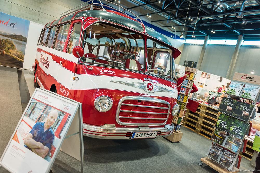 Der Bücherbus auf der Buch Wien
