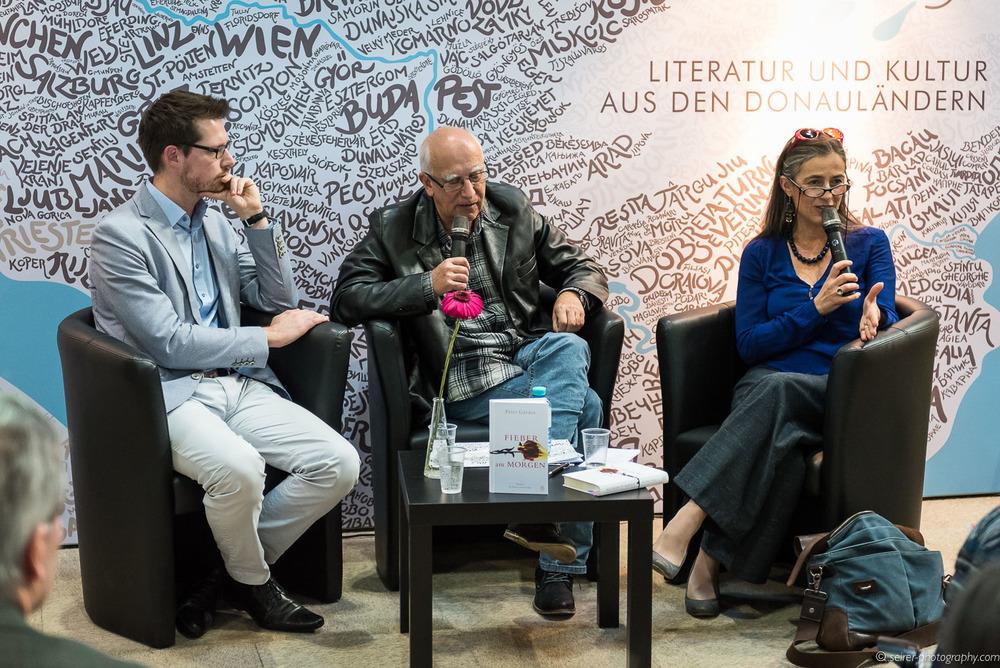 Péter Gárdos im Gespräch mit Mercedes Echerer