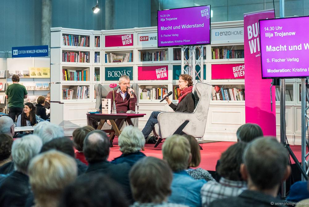 Ilia Trojanow im Gespräch mit Kristina Pfoser