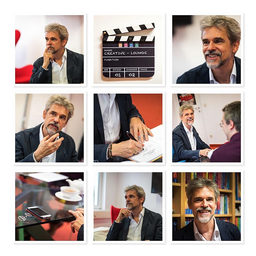 Thomas Brezina beim Interview mit Janetts Meinung