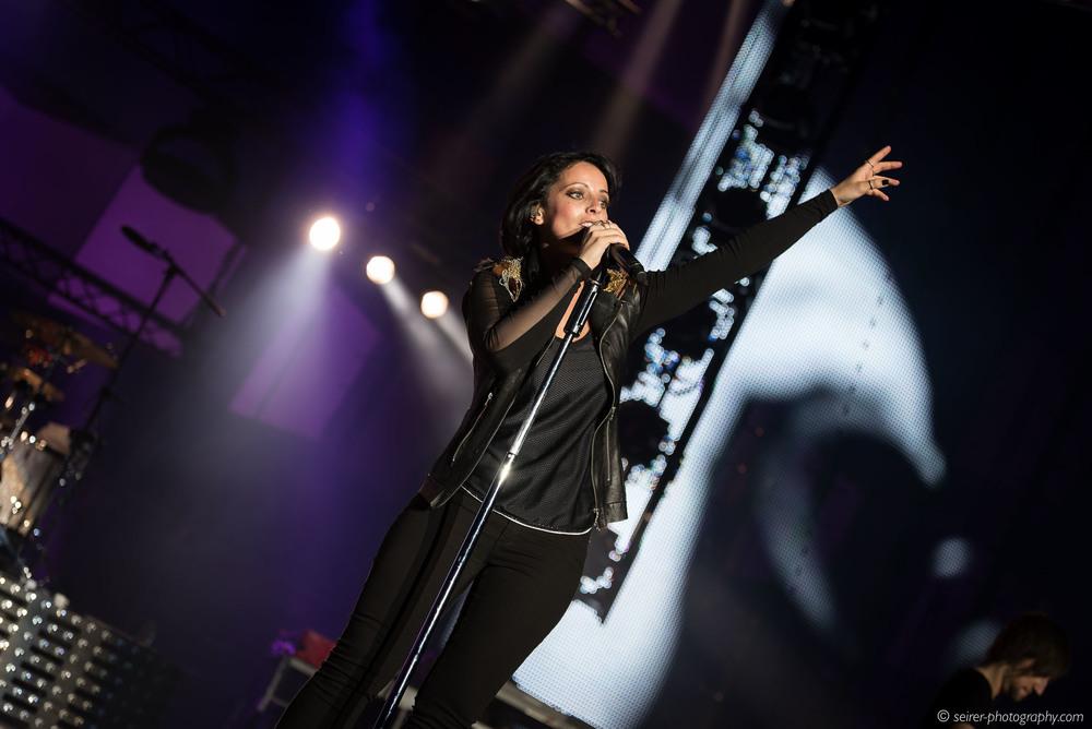 Stefanie Kloß, Silbermond, Konzert Wiener Stadthalle 18. Mai 2016, Leichtes Gepäck Tour