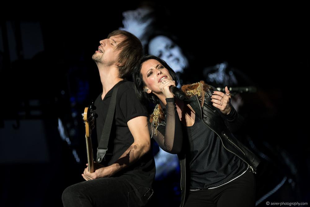Stefanie Kloß, Johannes Stolle, Silbermond, Konzert Wiener Stadthalle 18. Mai 2016, Leichtes Gepäck Tour