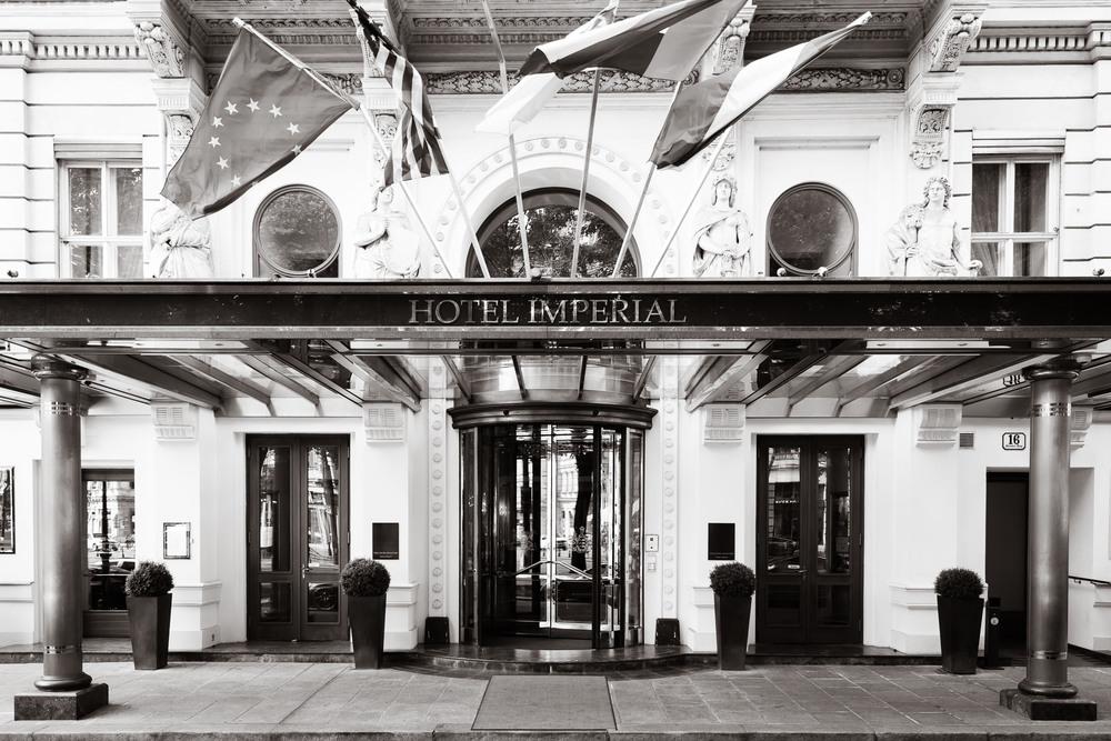 Eingangsbereich vom Hotel Imperial