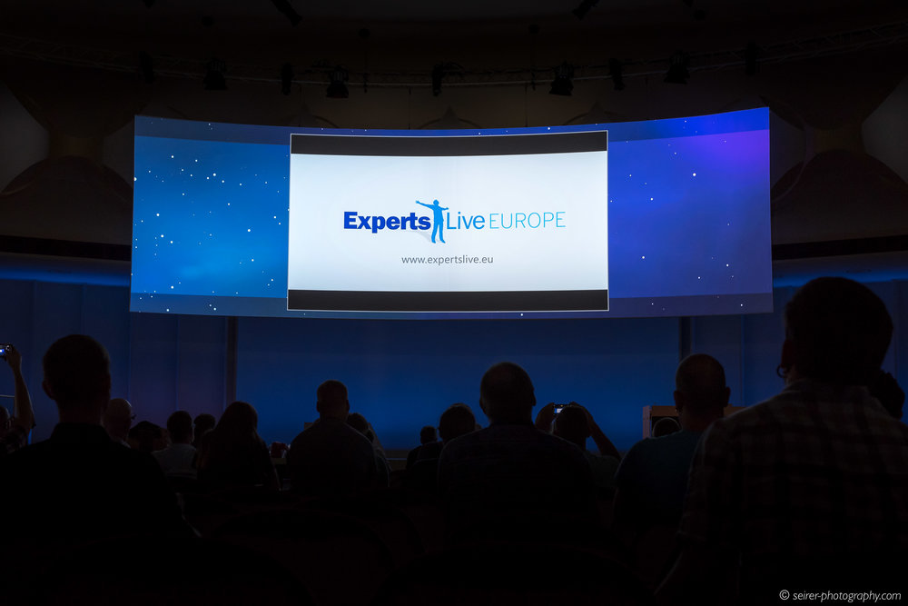 """Am Ende der Konferenz wurde noch deren Umbenennung bekanntgegeben: von """"SCU Europe"""" auf """"Experts Live Europe"""""""