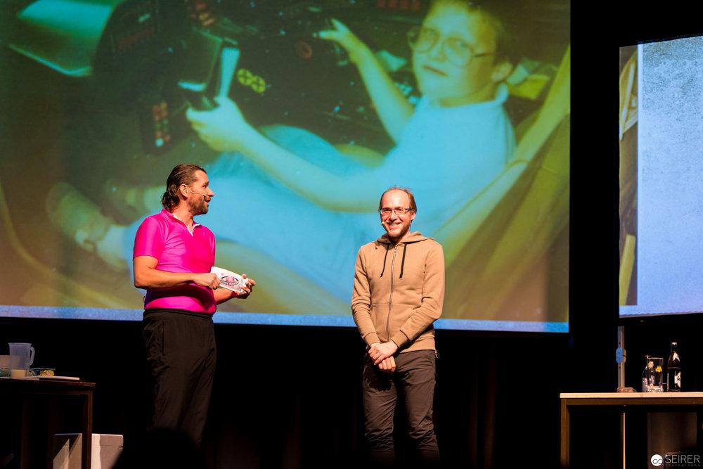 Martin Puntigam und der Science Blogger & Astronom Dr. Florian Freistetter